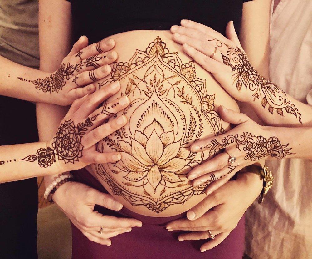 Mehndi Hand With Eye : The eye of henna moons tattoo