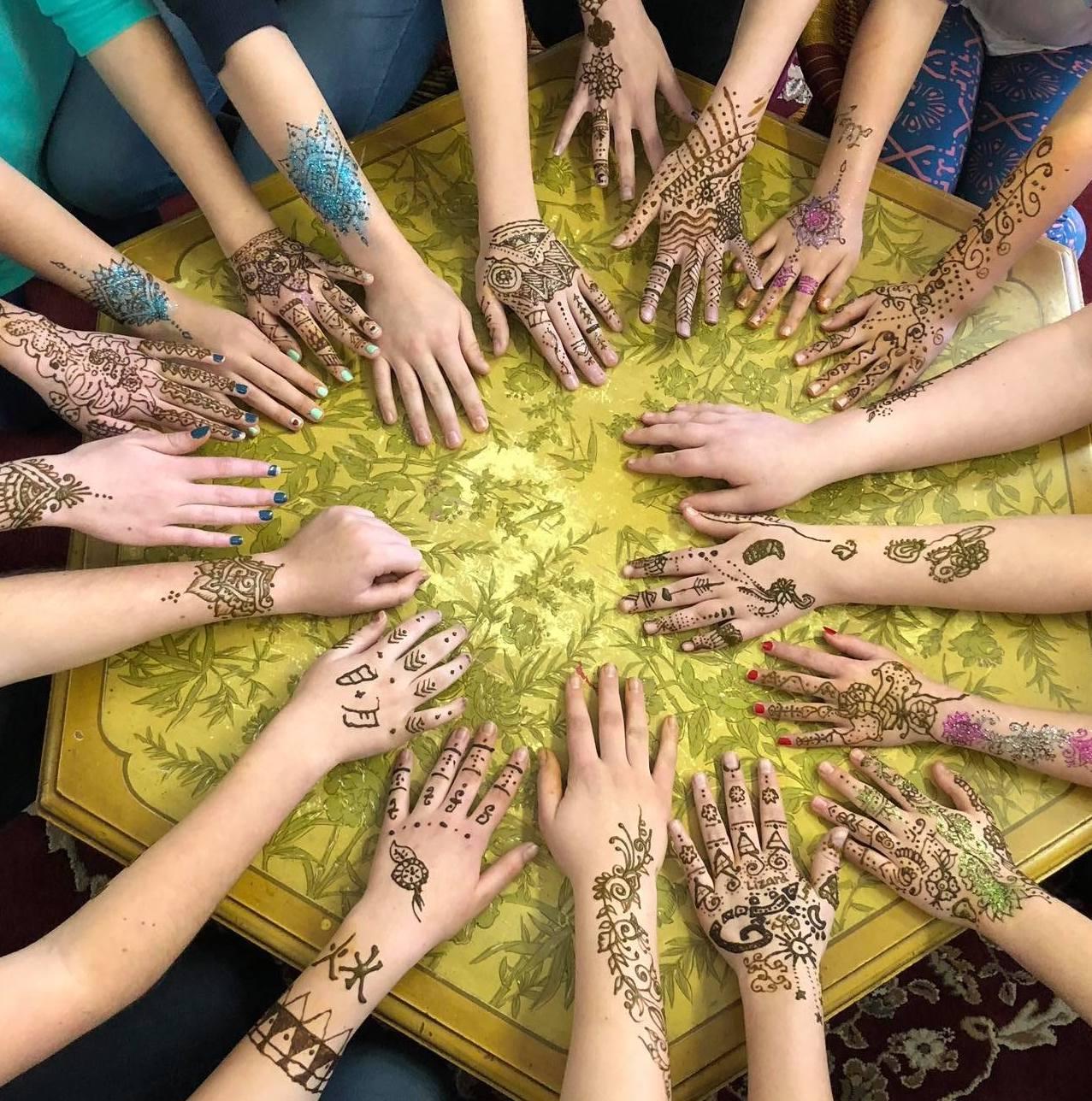 The Eye of Henna & 13 Moons Tattoo