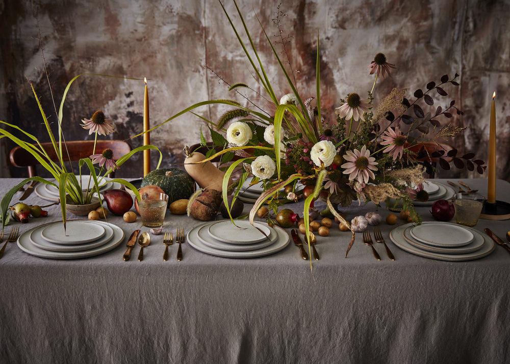 Cooking Light Magazine:   November Issue 2017:   Photography:   Jen Causey;   Food Styling: Chelsea Zimmer;   Prop Styling: Heather Chadduck; Backdrop: Audrey Davis