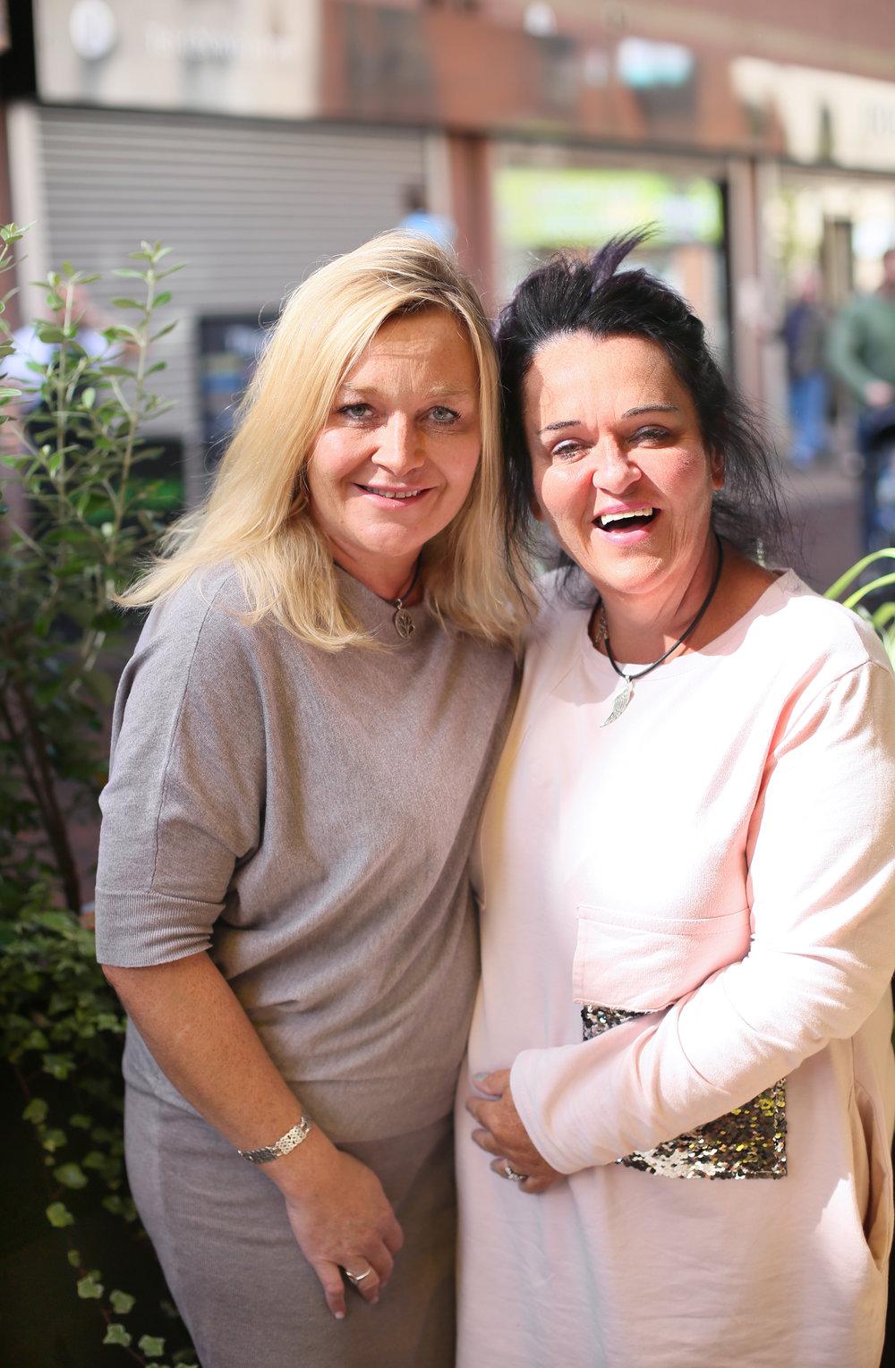 Brenda and Sophia