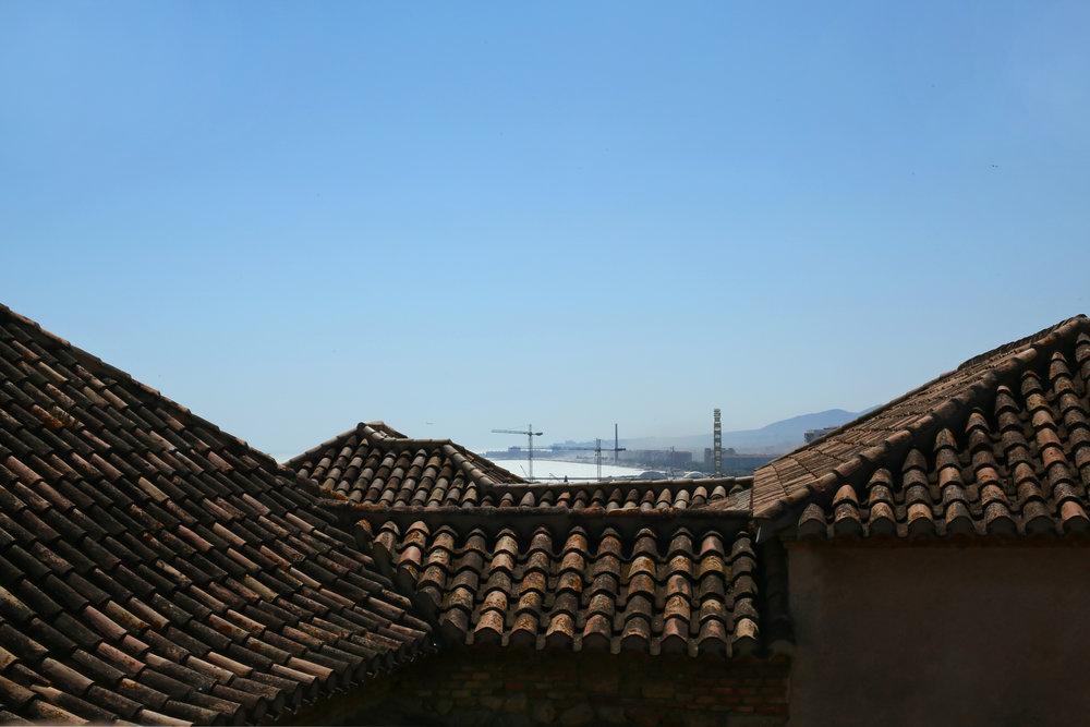 Rooftop of Málaga's Alcazaba