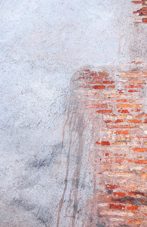 Walls of Málaga's Alcazaba used in my show  Esthesia