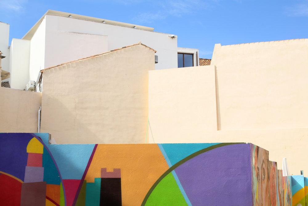 Murals in Málaga