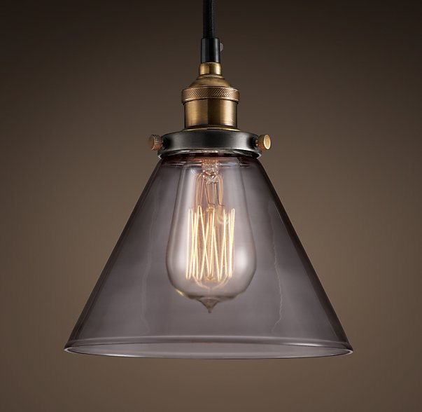 RH 20th C. Filament Smoke Glass Pendant $85.jpg
