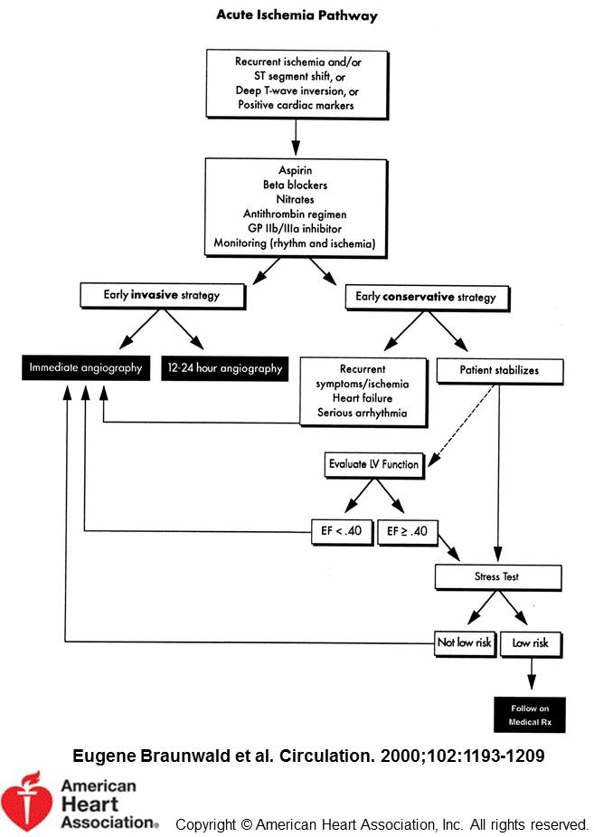 Acute Ischemia Pathway