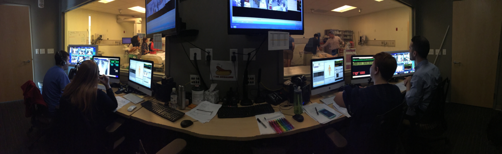 Command central from the on-call crises. It seems like every scenario turns into a code!