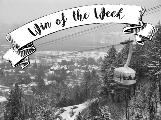 I think the winner this week was the snow.  Thank you to all the residents who walked, skied, snowshoed, bused, drove and carpooled to take superb care of our patients.  We truly appreciate your dedication!
