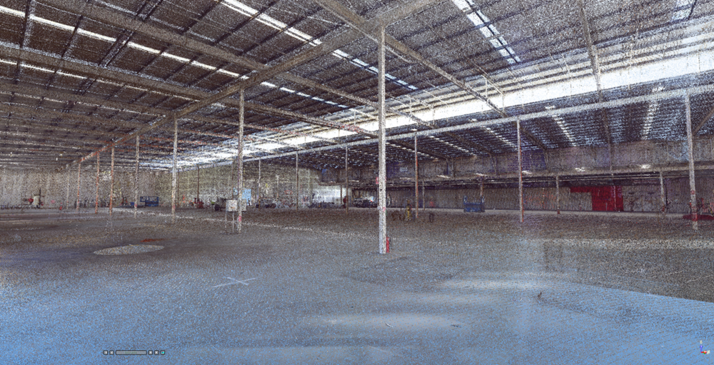 Inside Warehouse scan