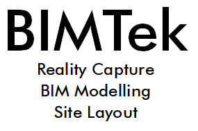 BIMTek Laser Scanning, BIM Modelling and Site Layout