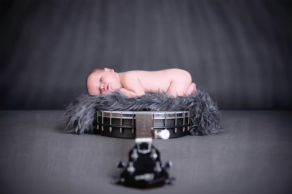 Music soothes the soul and babies