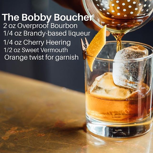 It's our favorite time of the week! #fridayhappyhour #tgif This week's drink is based off the 1930's Bobby Burns, courtesy of #foodandwinemag. . . . #wanderinfspiritspdx #travelingbar #travelingbartender #trailerbar #portlandcocktails #pdxevents #pdxnow #pdxcocktails #pdxdrinks #pdxhappyhour #bourbon #orangetwist