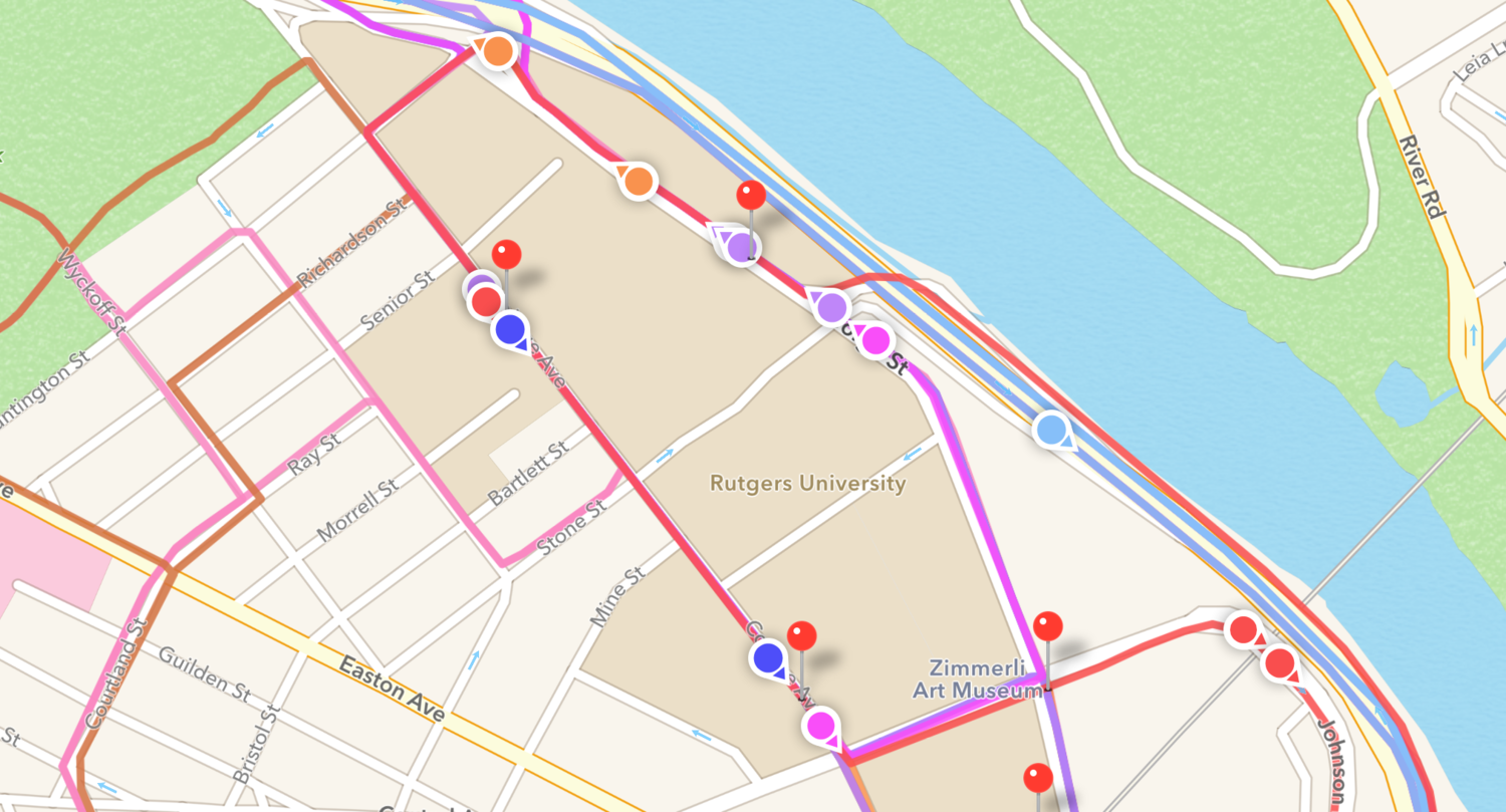 RU There Yet? - Mobile Bus App for Rutgers