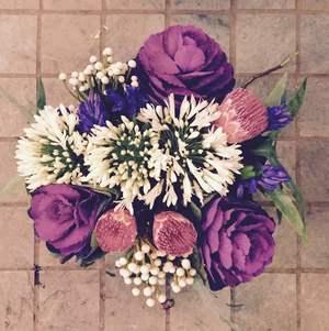Round european style bouquet