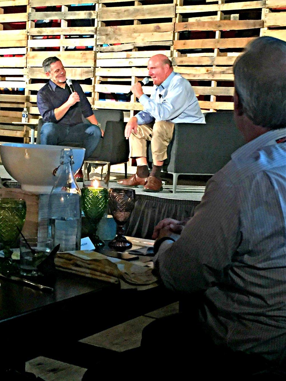 Dan Gilbert, Steve Ballmer