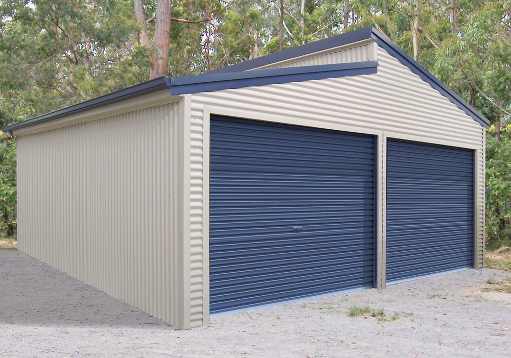 Double Garage Skillion Roof