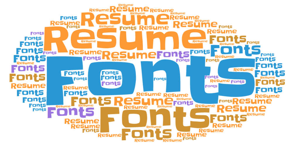 When Creating A Resume, Believe It Or Not, Font Matters. The Psychology Of  Fonts On A Resume Should Be Taken Very Seriously. A Resume Is An  Individualu0027s ...  Fonts For Resumes