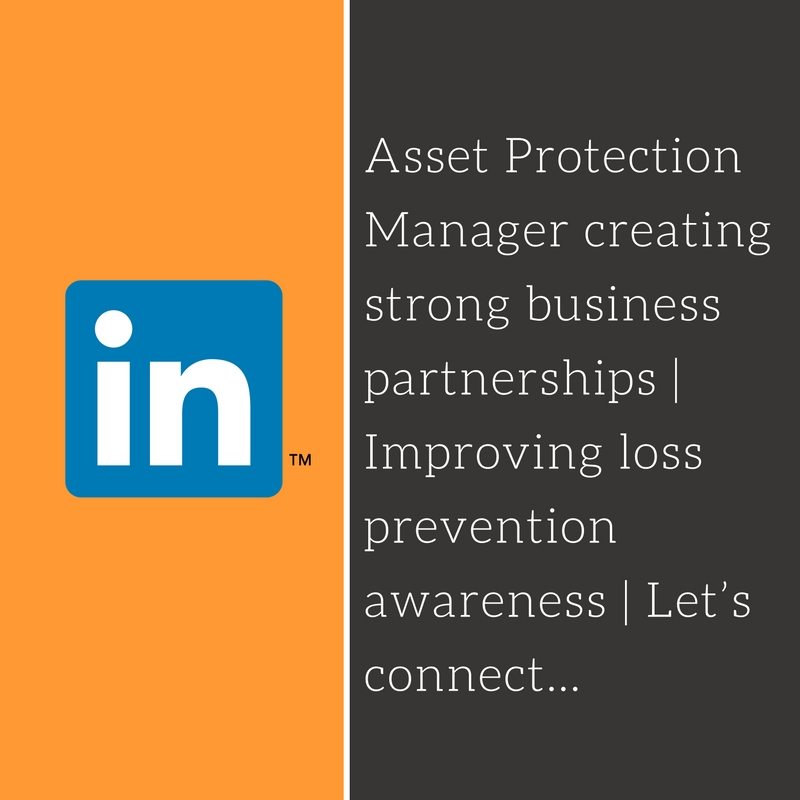 Asset Protection Manager creating strong business partnerships | Improving loss prevention awareness | Let's connect...