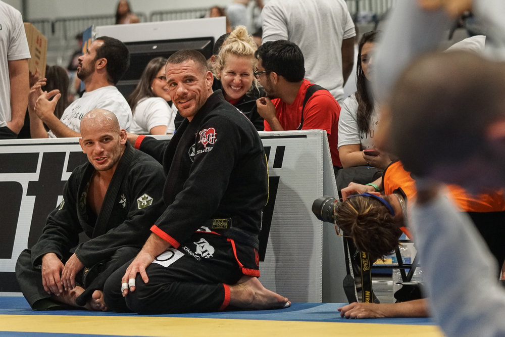 Rafael Lovato Jr and Xande Ribiero
