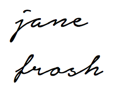 JANE FROSH - stylist / creative director