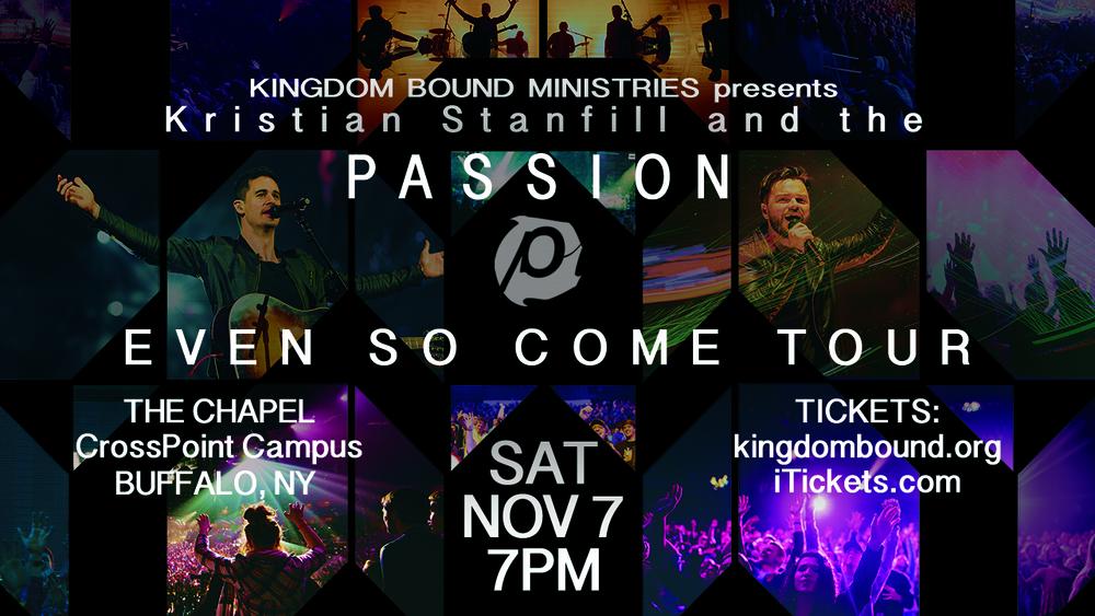 Passion Even So Come Tour