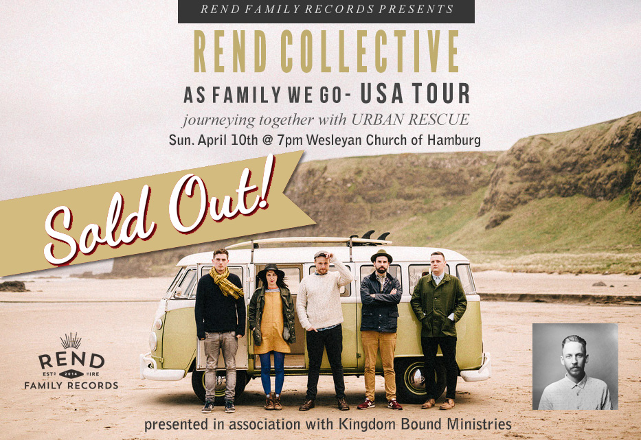 Rend Collective in Buffalo, NY