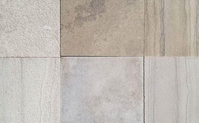 Its #materialmonday (that's a thing, right?) and we just received some new #limestone samples from @owensoundledgerock to add to our material library! Great way to start the week! . . . #stone #design #material #architecture #landscape #materialslibrary #coworking #Ontario