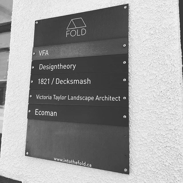 Welcome to our newest FOLD members: @vtaylorlandarch and @ecoman_jonas !🌱 Regrann from @vtaylorlandarch -  It's official (and name just fits!) ⚡️@intothe_fold - #regrann