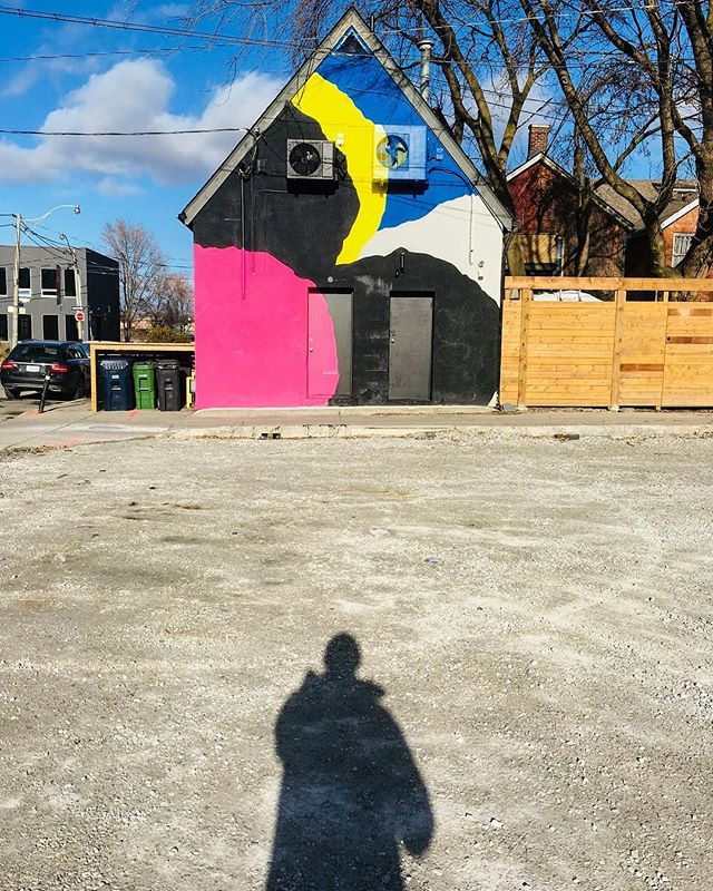 Finally got a sunny day to capture the finished piece by @pascalpaquette 💥 #minimalist #urban #camoflauge