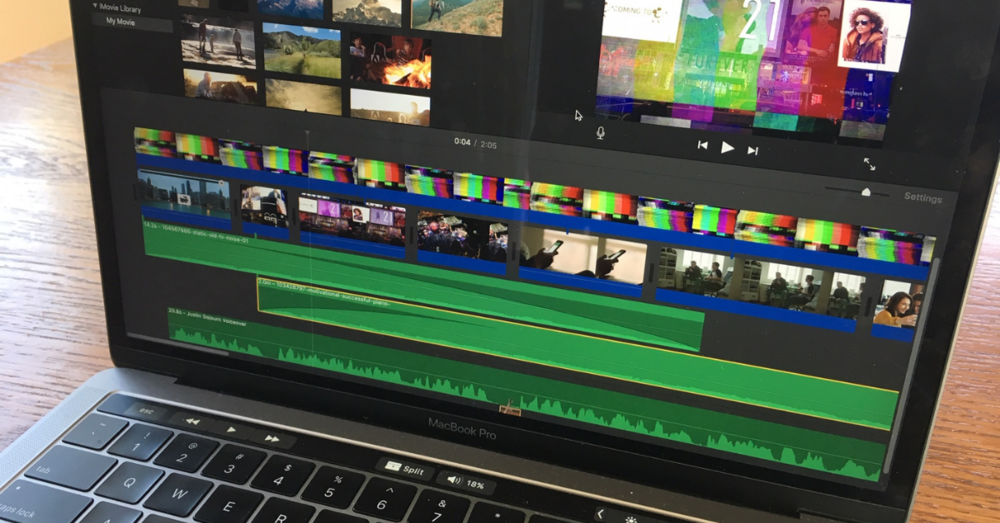 Making progress on the sojourn video.
