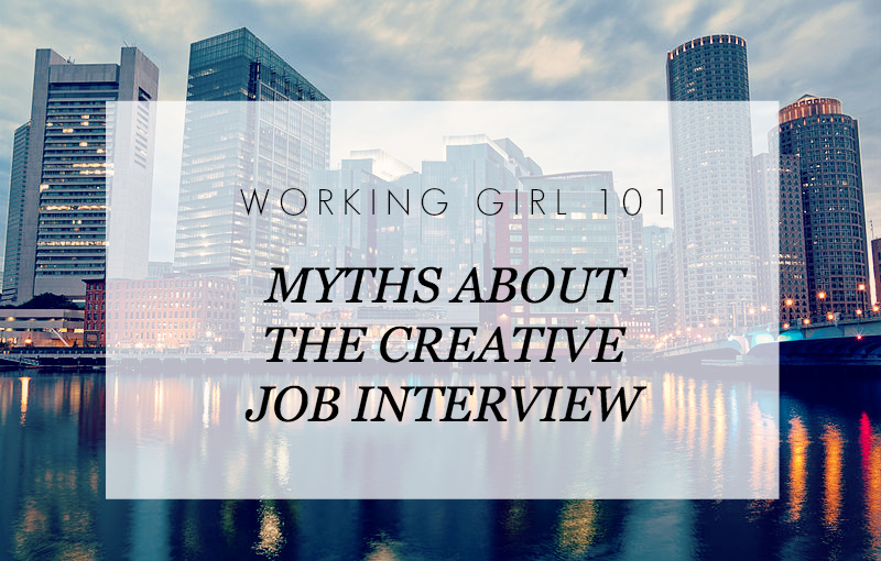 Myths About the Creative Job Interview header