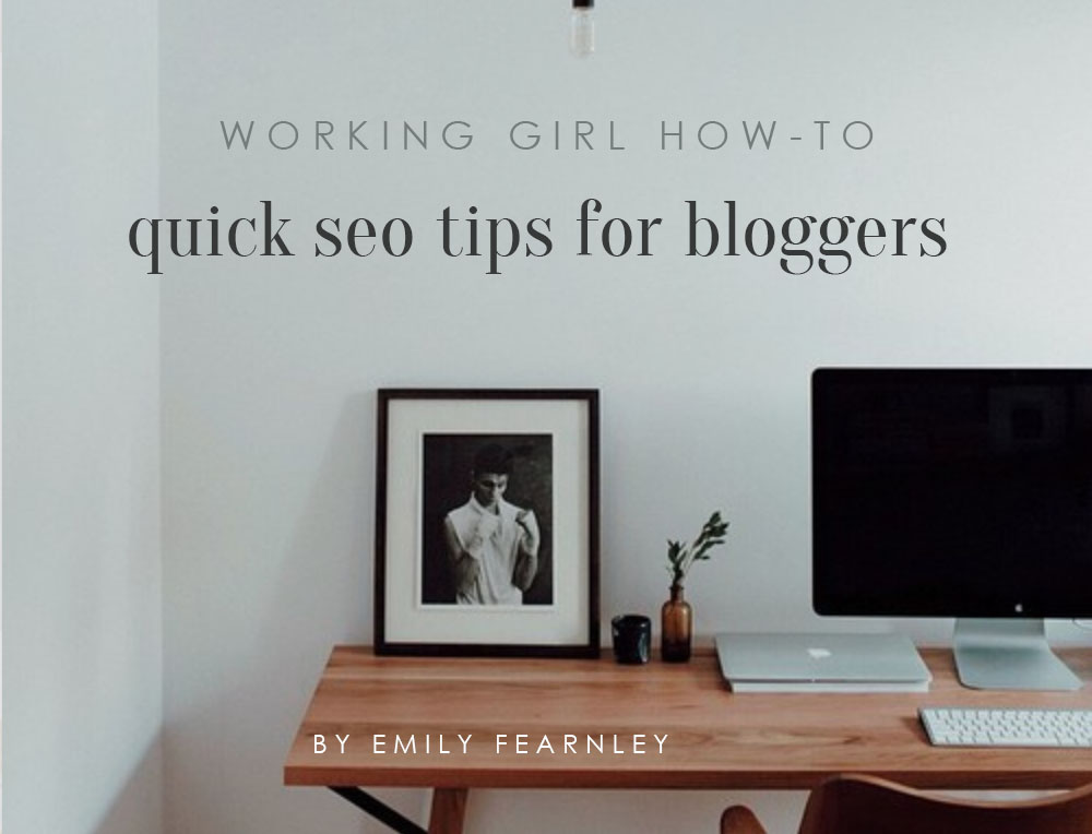 Quick SEO Tips for Bloggers