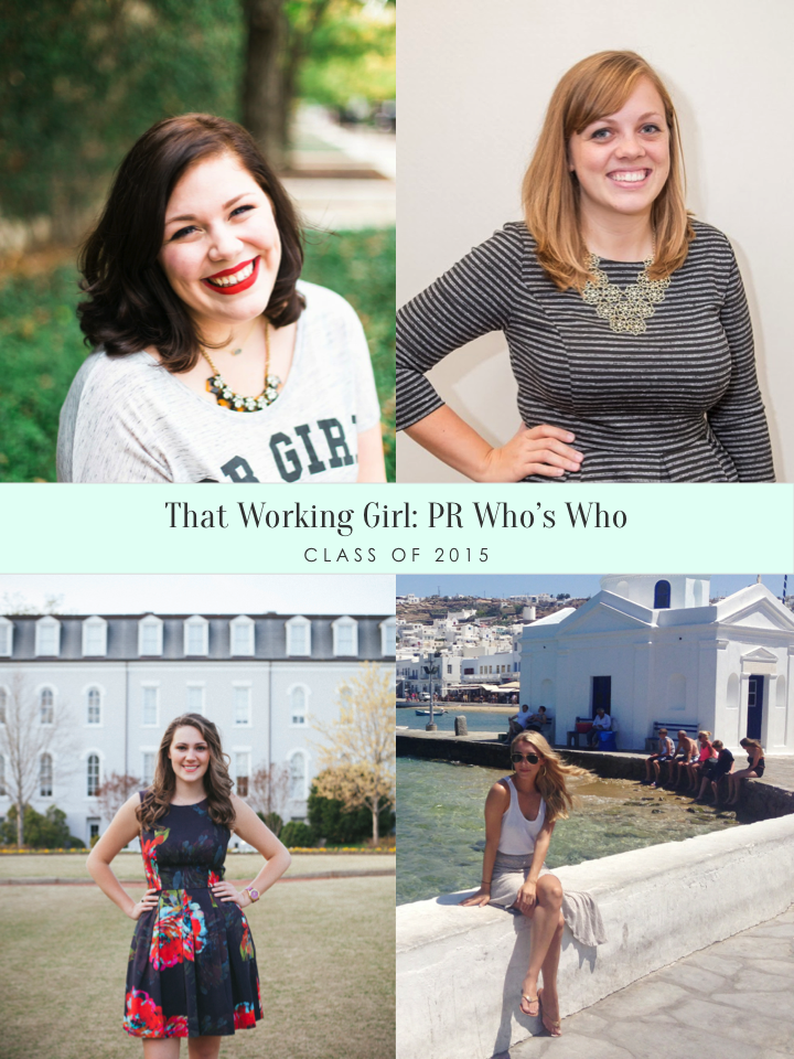 That Working Girl: PR Who's Who Class of 2015