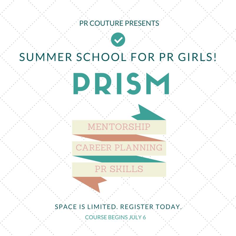 PR Couture PRISM Course
