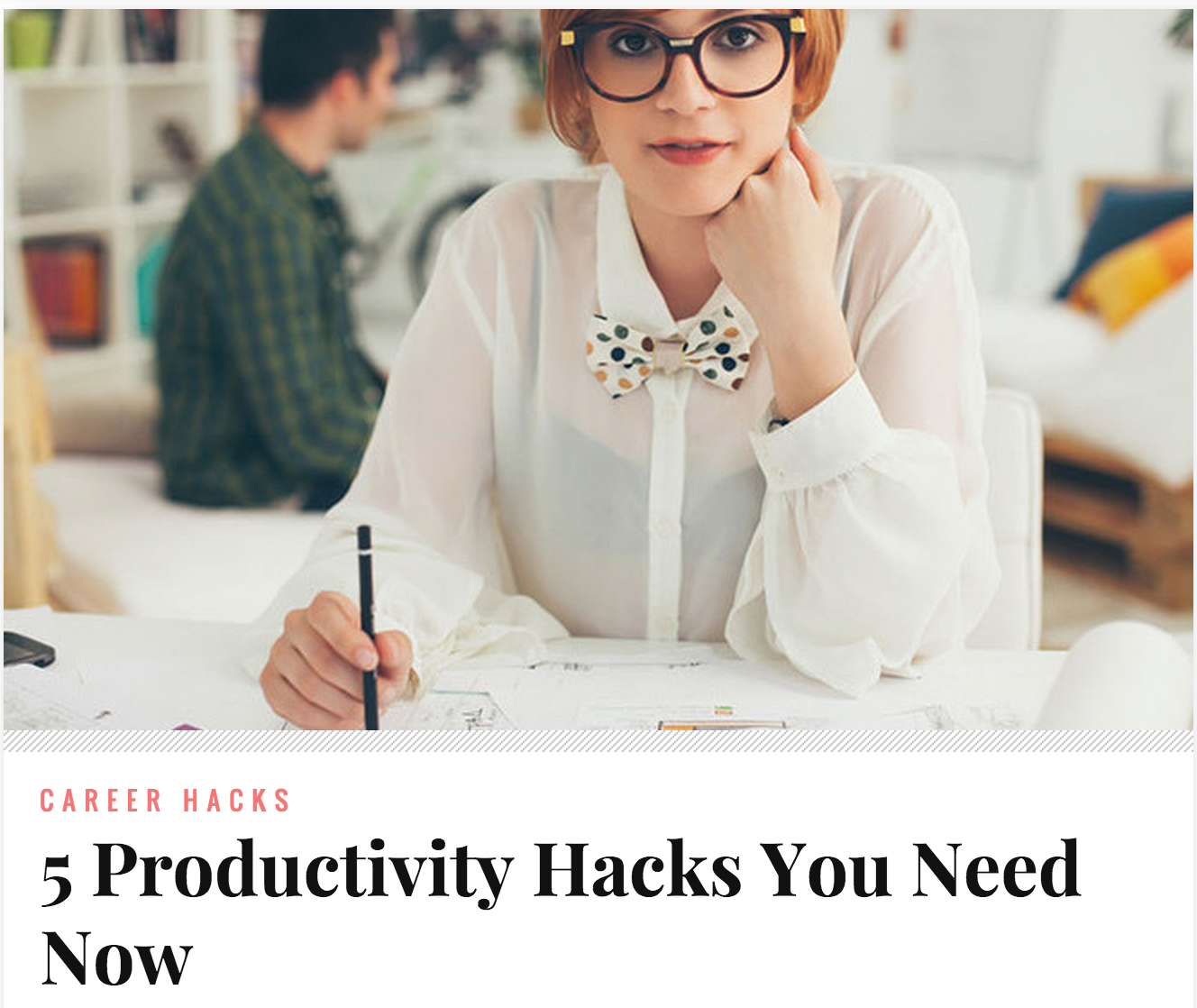 5 Productivity Hacks You Need Now