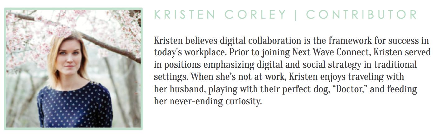 Kristen Corley Bio