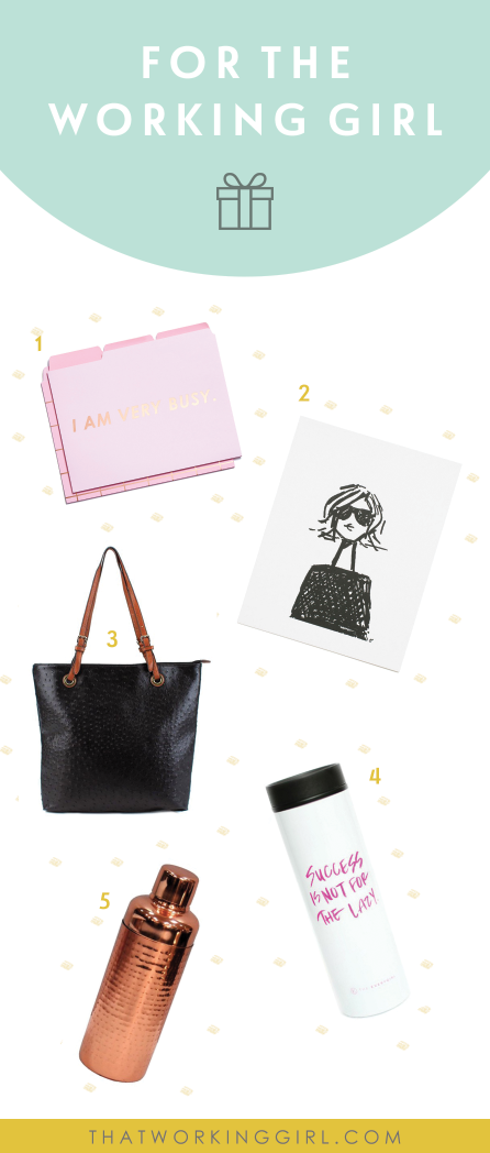 That Working Girl 2016 Holiday Gift Guide