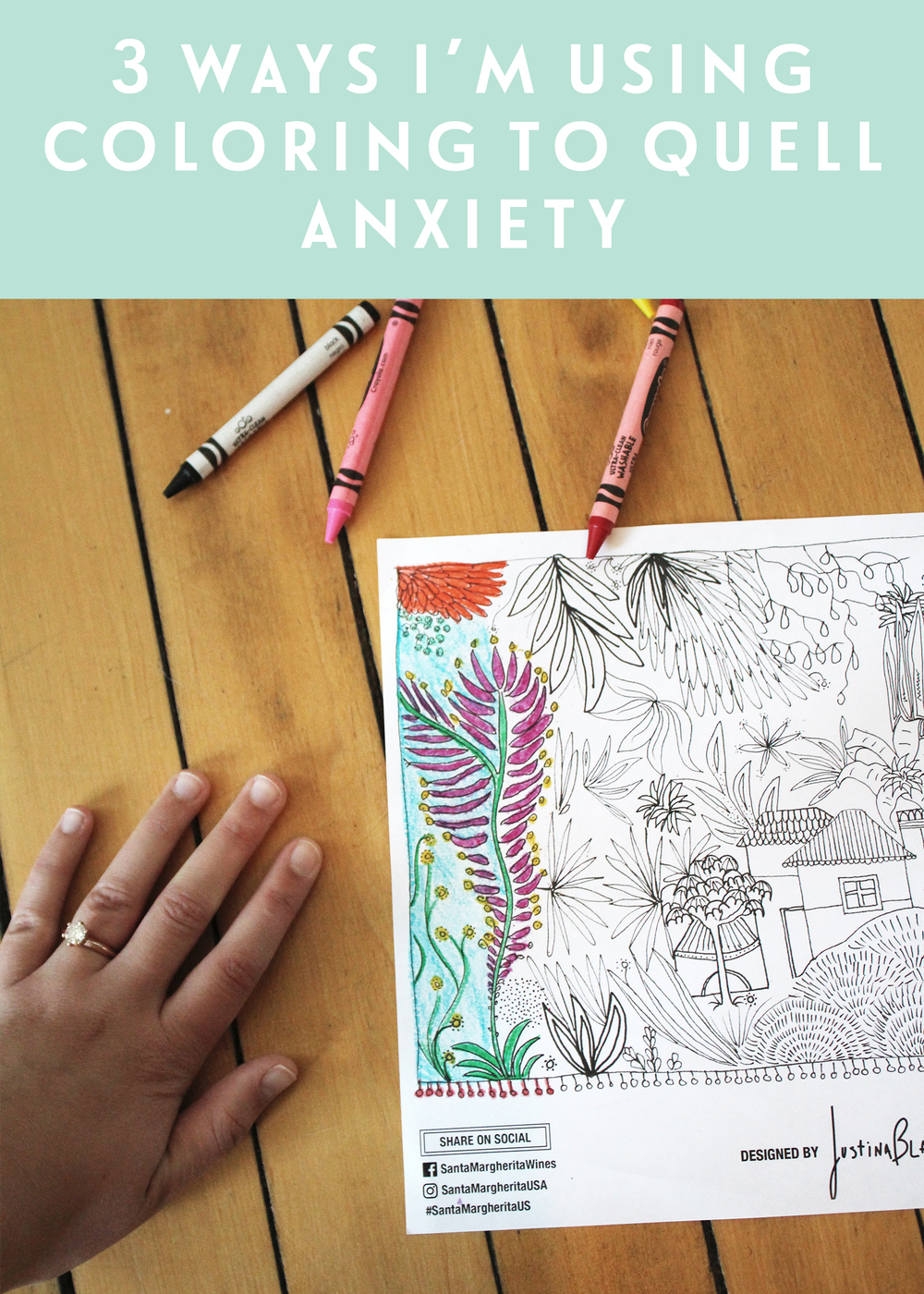 3 Ways I'm Using Coloring to Quell Anxiety