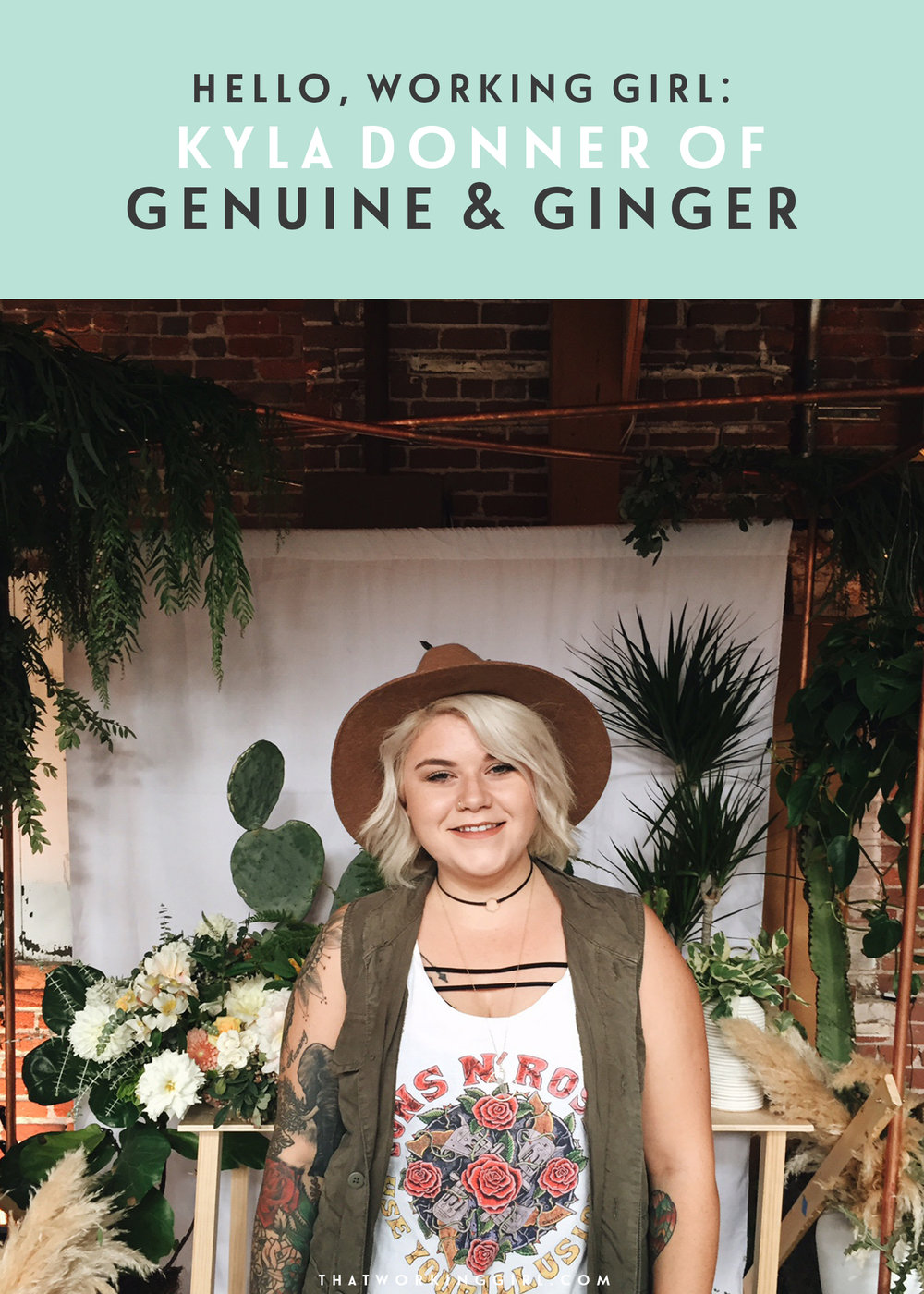 Hello Working Girl_Kyla Donner of Genuine & Ginger