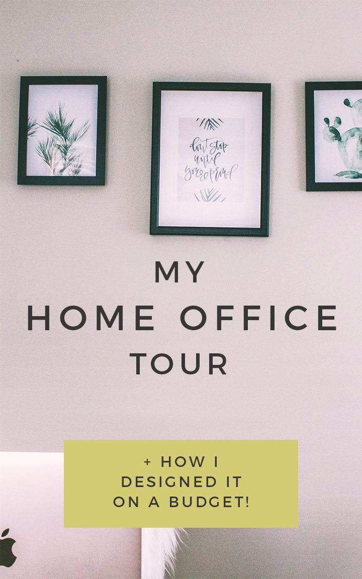 Home office decor ideas | Lindsay Scholz | Brand and social media designer for creatives