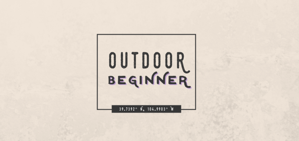 Outdoor Beginner brand identity | brand identity, brand design, logo design, branding yourself, branding business