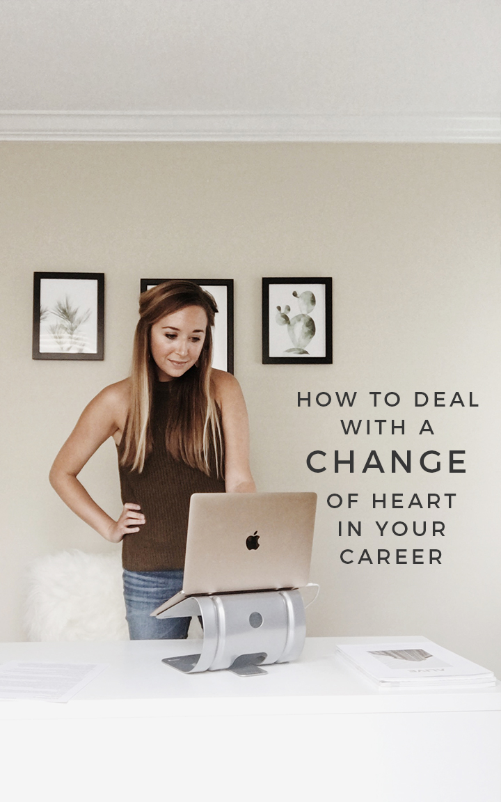 Career change tips, change of heart in career, how to change careers