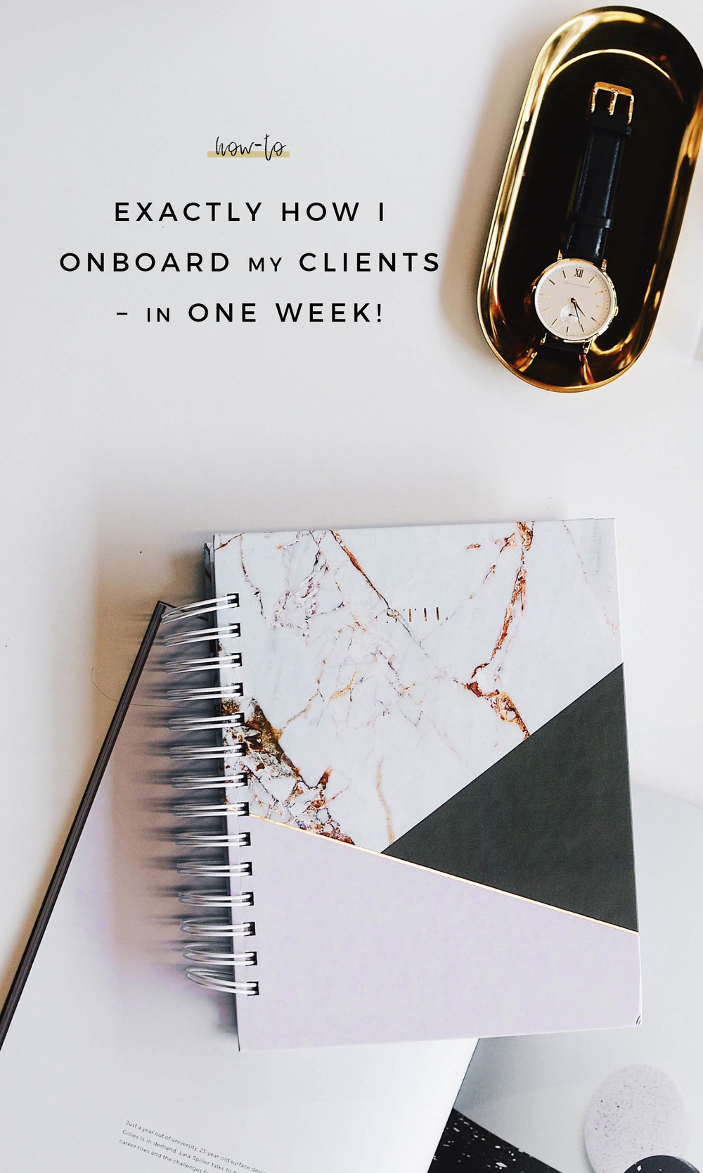 Exactly How I Onboard My Design and Social Media Clients – In One Week!