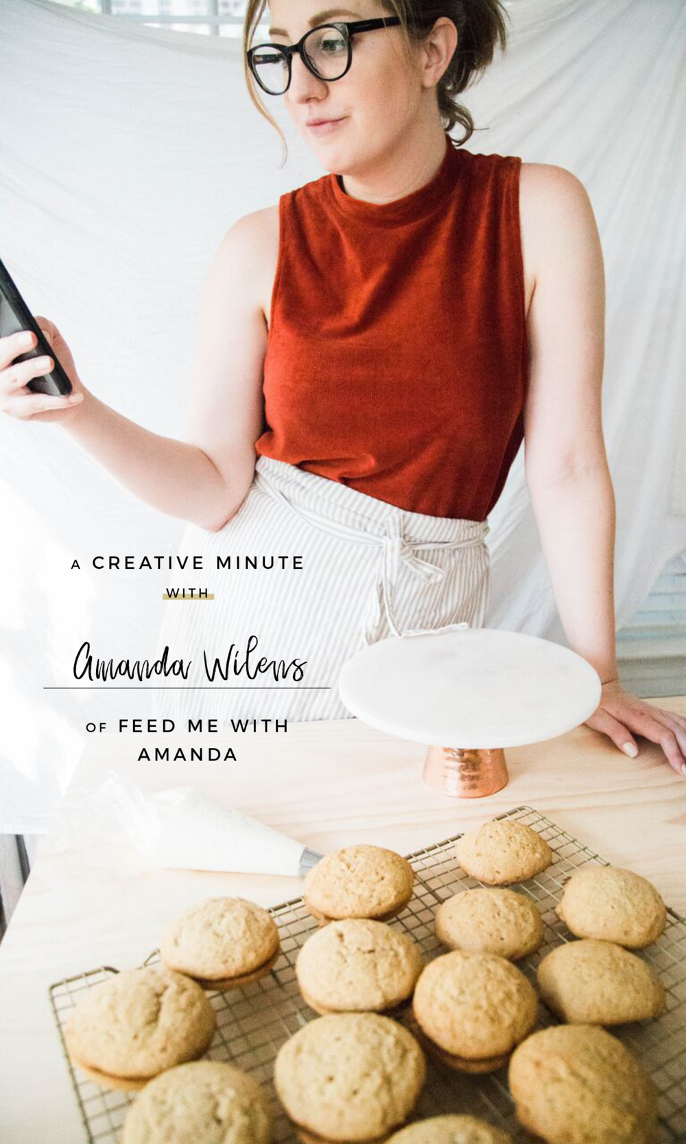 A Creative Minute With... Amanda Wilens of Feed Me With Amanda