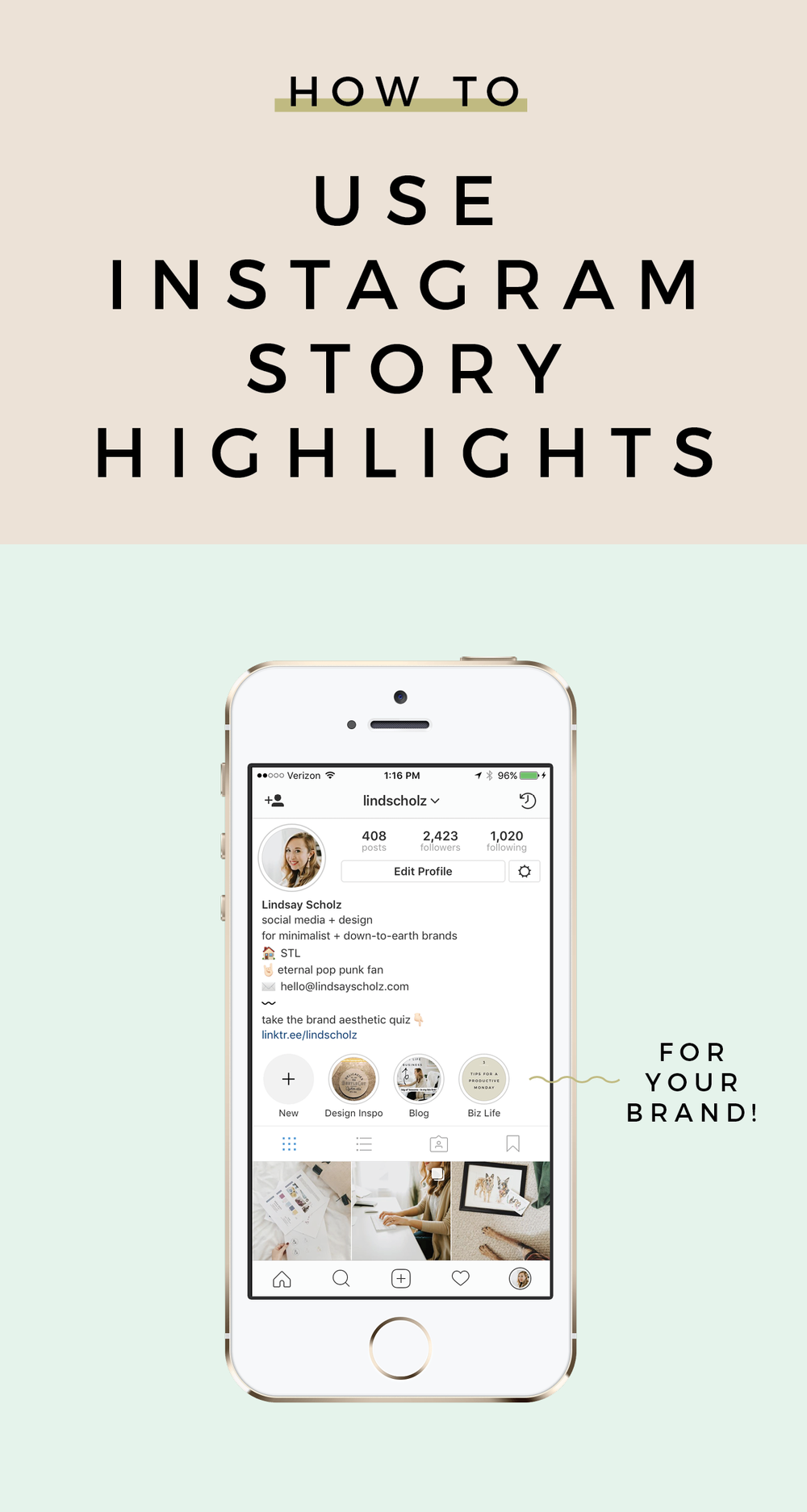 How To Use Instagram Story Highlights To Elevate Your Brand