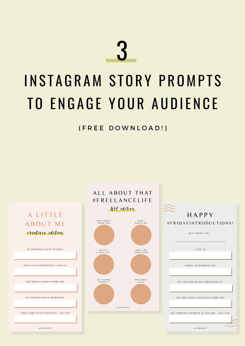 3 Instagram Story Prompts To Engage Your Audience