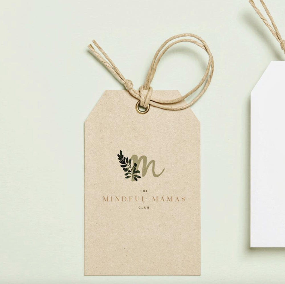 The Mindful Mama's Club | Brand Identity Design