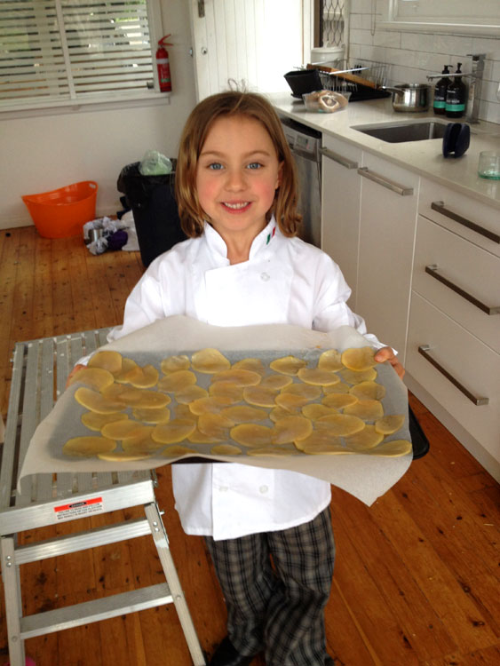 Italian cooking Classes for kids in Sydney's northern beaches