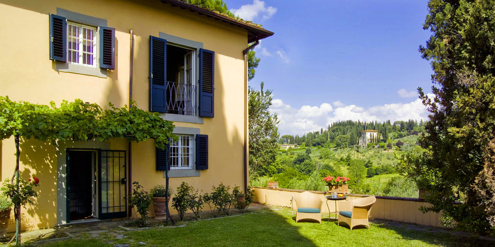 Villa La Fonte Antica in hills of FlorenceTuscany