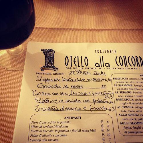 my favorite restaurant Otello, on A.Ferrari Kitchen food tour, Florence
