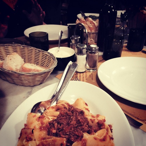 Authentic Italian food on Tuscan Food tour